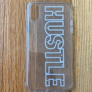 Hustle iPhone XR case